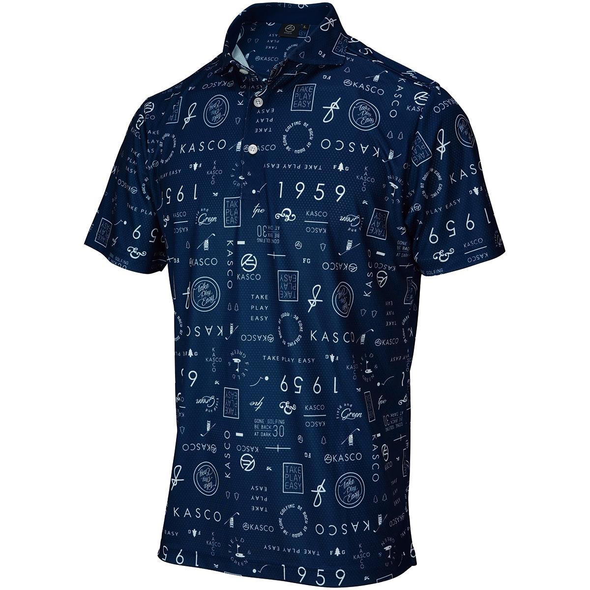 ロゴタイポ 半袖ポロシャツ