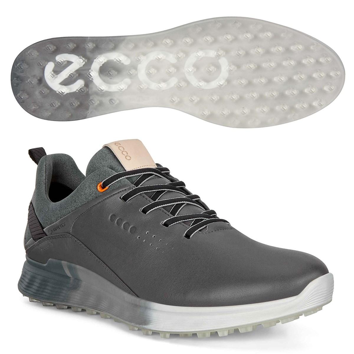 ecco エコー ゴルフ S-THREE GTX シューズ 24.5cm/EUサイズ39 グレー