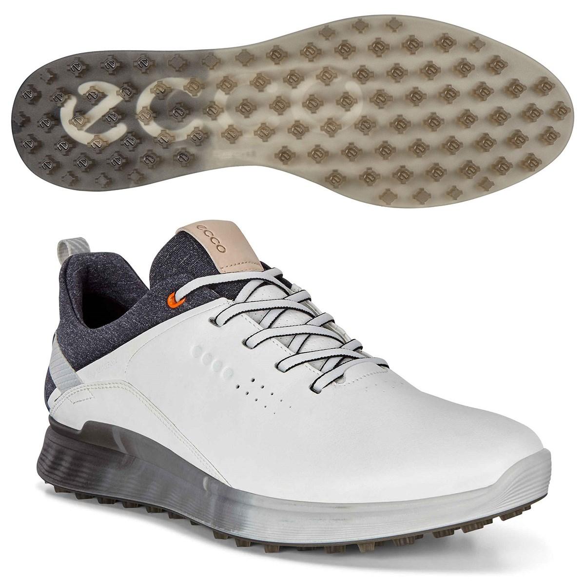 ecco エコー ゴルフ S-THREE GTX シューズ 24.5cm/EUサイズ39 ホワイト