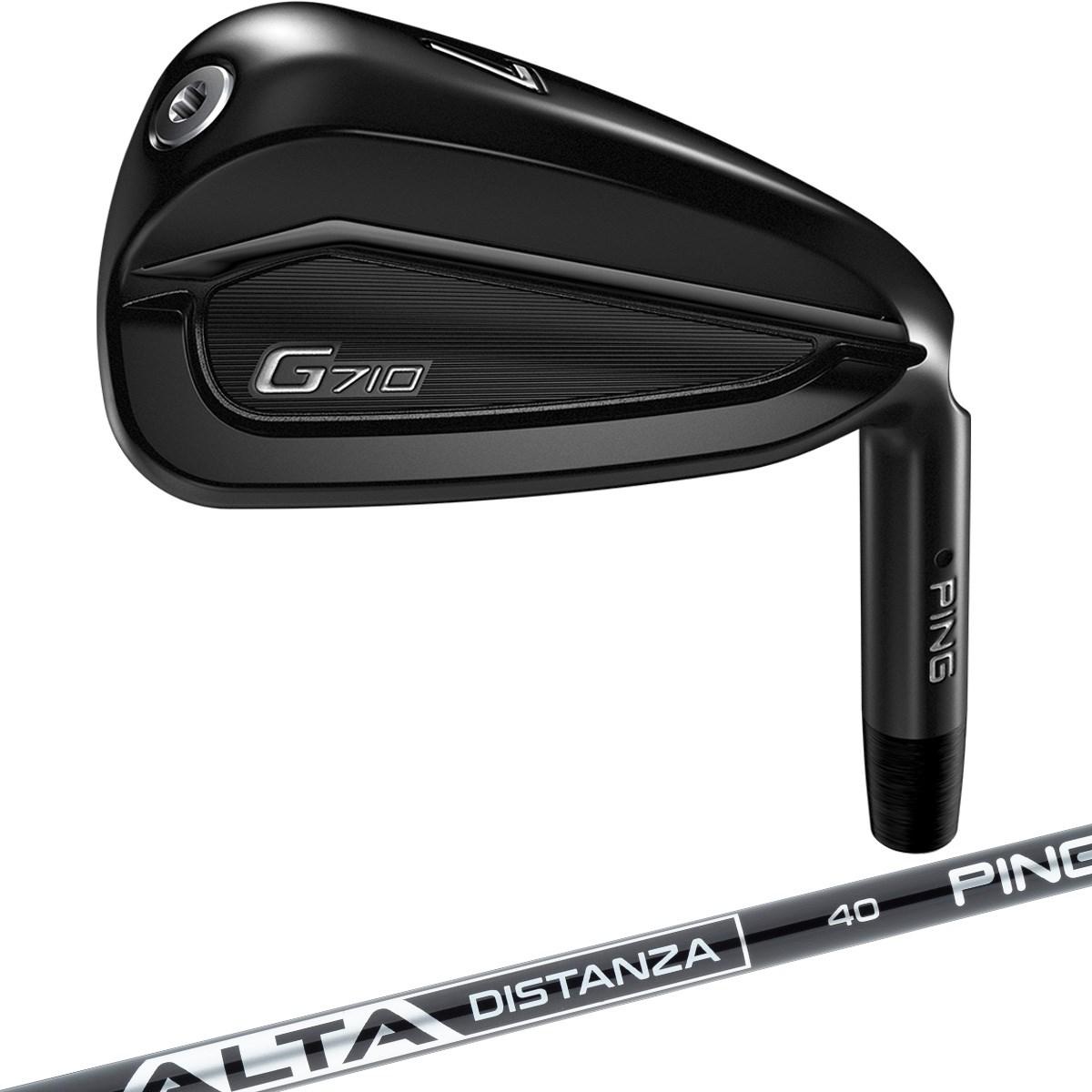 G710 アイアン(5本セット) ALTA DISTANZA BLACK 40
