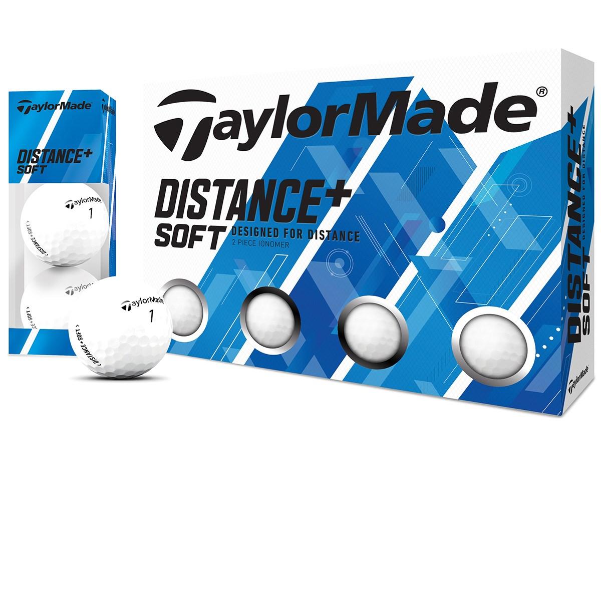 テーラーメイド DISTANCE+ Distance+Soft ボール 3ダースセット 3ダース(36個入り) ホワイト