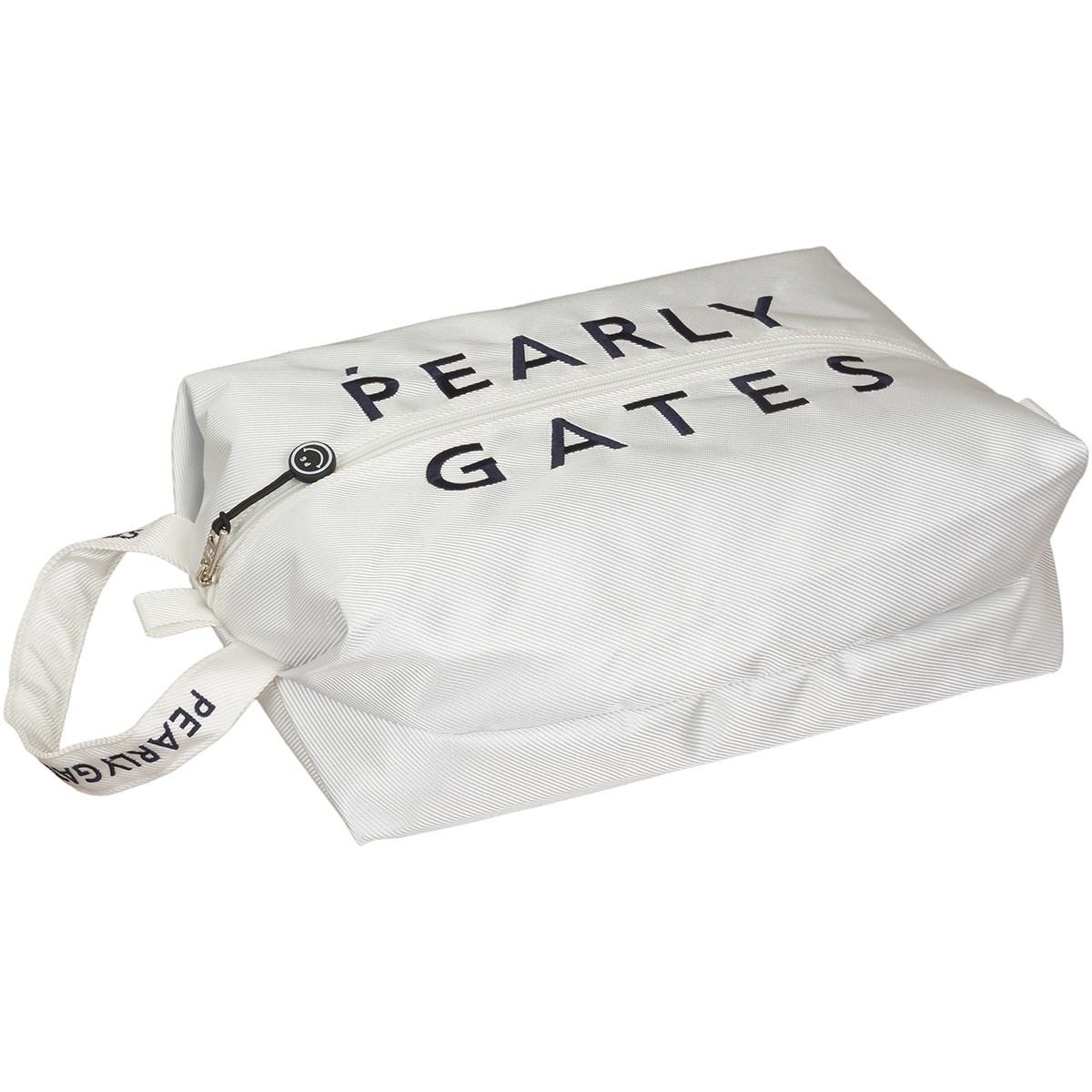 [2020年モデル] パーリーゲイツ PEARLY GATES シューズケース ホワイト 030 メンズ ゴルフ