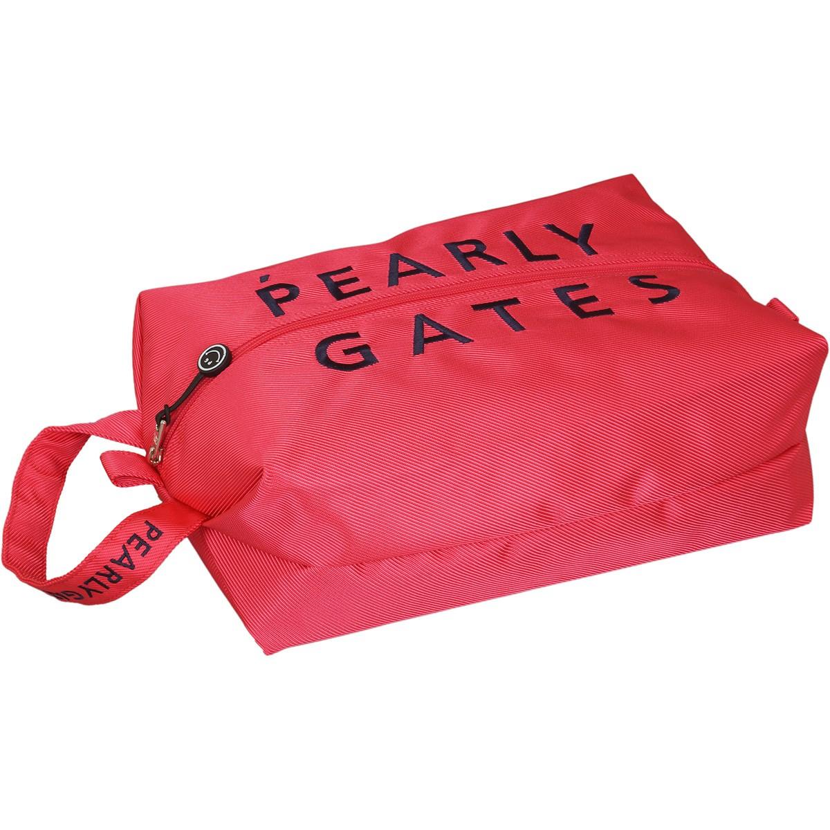 [2020年モデル] パーリーゲイツ PEARLY GATES シューズケース ピンク 090 メンズ ゴルフ