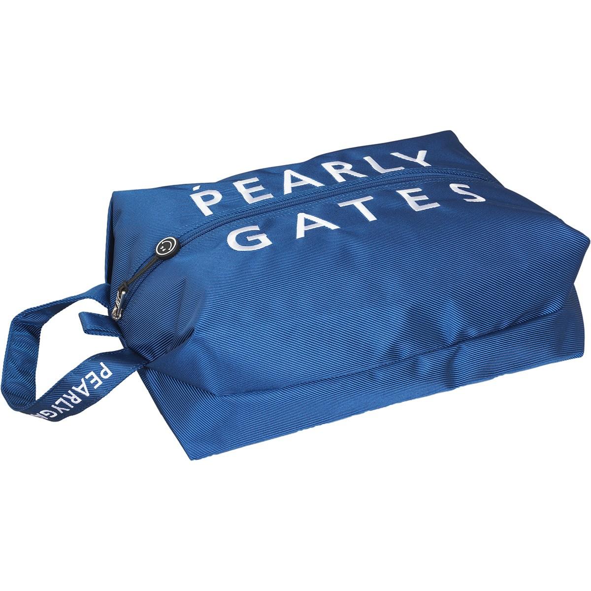 [2020年モデル] パーリーゲイツ PEARLY GATES シューズケース ブルー 110 メンズ ゴルフ
