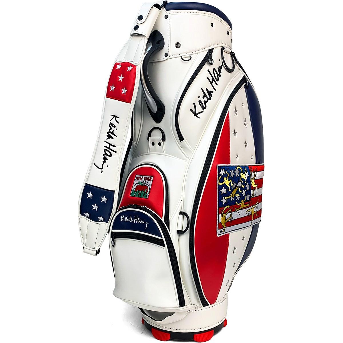 Dショッピング キース ヘリング Keith Haring キャディバッグ ホワイト カテゴリ キャディバッグの販売できる商品 Gdoゴルフショップ ドコモの通販サイト