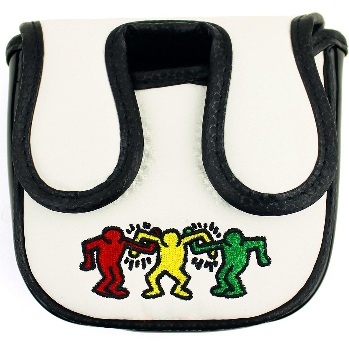 Dショッピング キース ヘリング Keith Haring パターカバー ホワイト カテゴリ ヘッドカバーの販売できる商品 Gdoゴルフショップ ドコモの通販サイト