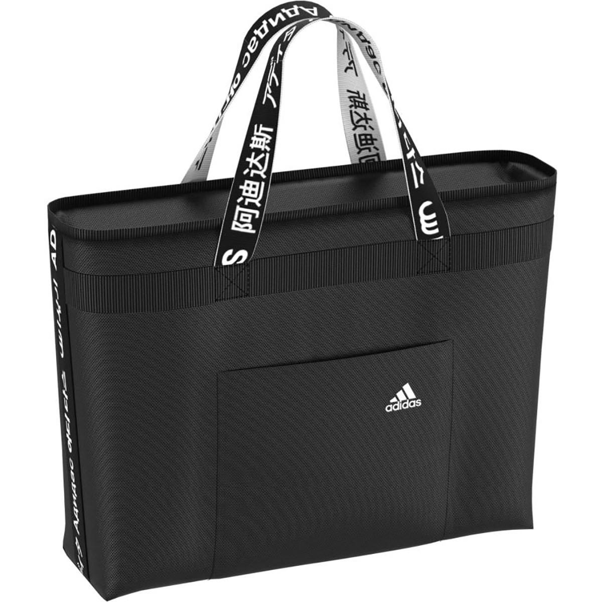 アディダス Adidas 4ATHLETES トートバッグ ブラック/ホワイト レディス