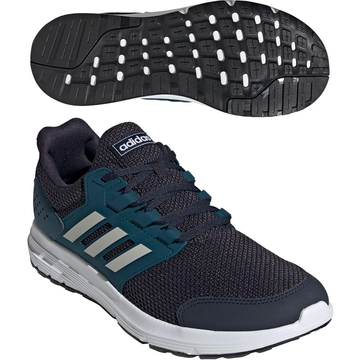 アディダス Adidas GALAXY 4 シューズ 26cm レジェンドインク/オービットグレー/テックミネラル