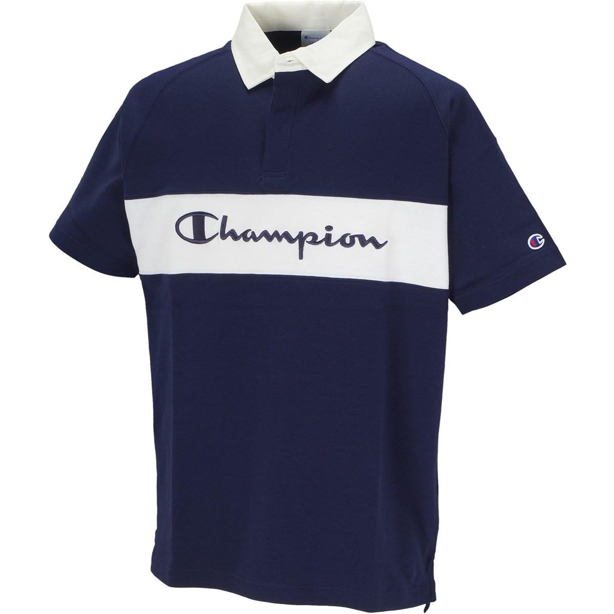 チャンピオンゴルフ Champion GOLF ポンチ 半袖ポロシャツ L ネイビー 370