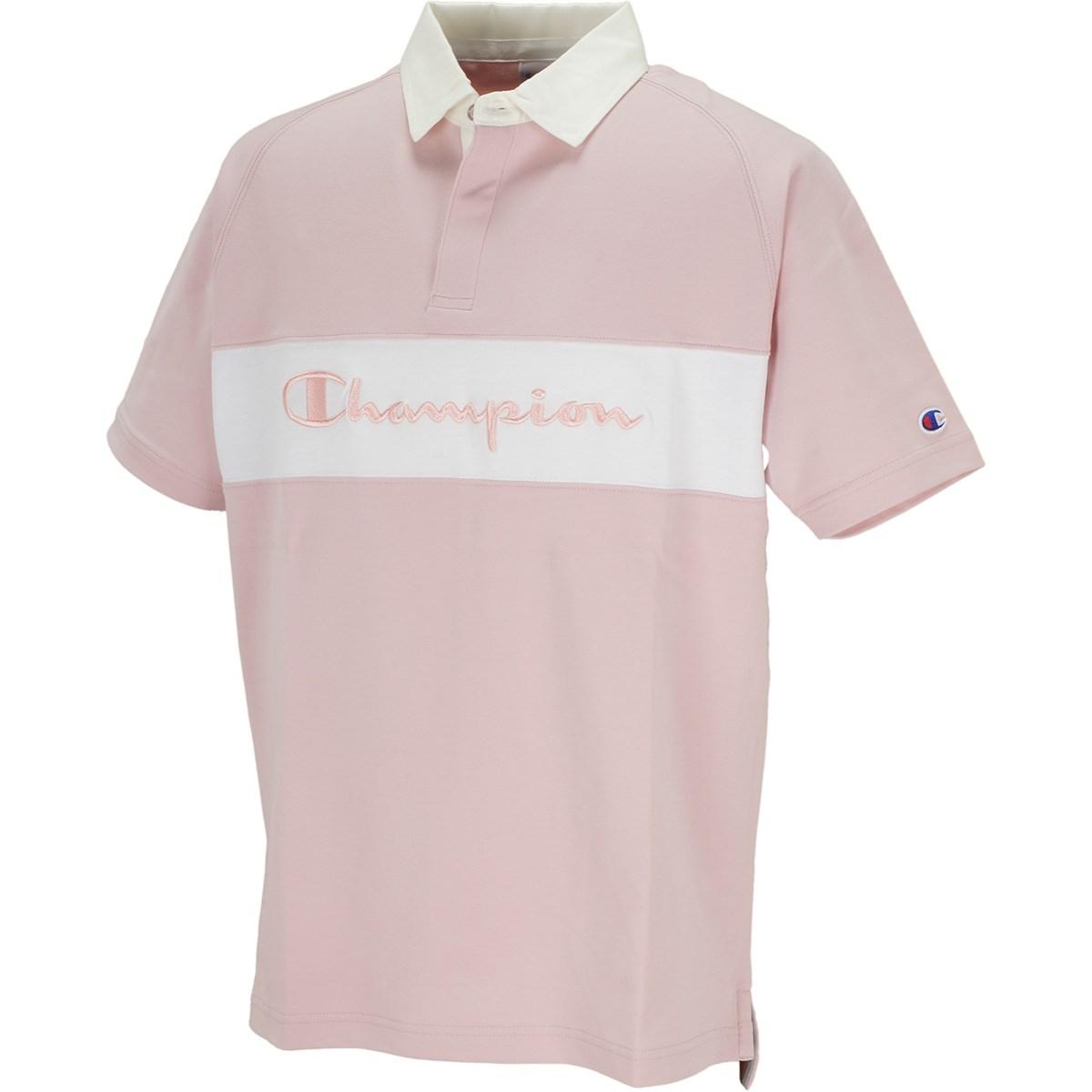 チャンピオンゴルフ Champion GOLF ポンチ 半袖ポロシャツ M ピンク 920
