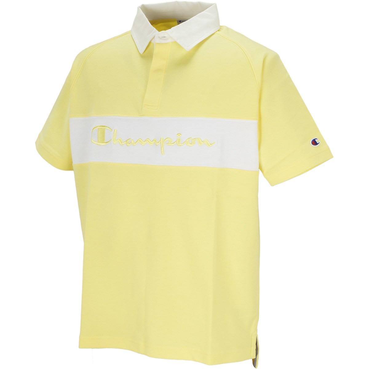 チャンピオンゴルフ Champion GOLF ポンチ 半袖ポロシャツ M イエロー 740
