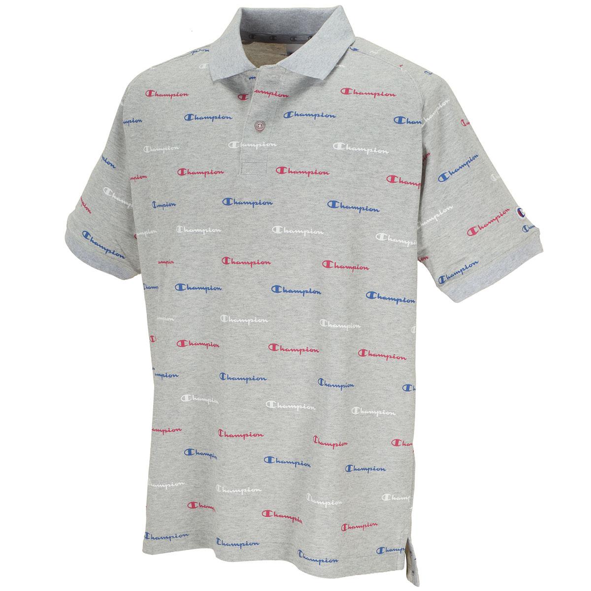 スクリプトロゴ 半袖ポロシャツ
