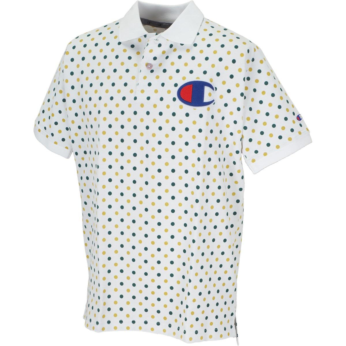 チャンピオン マルチドット 半袖ポロシャツ