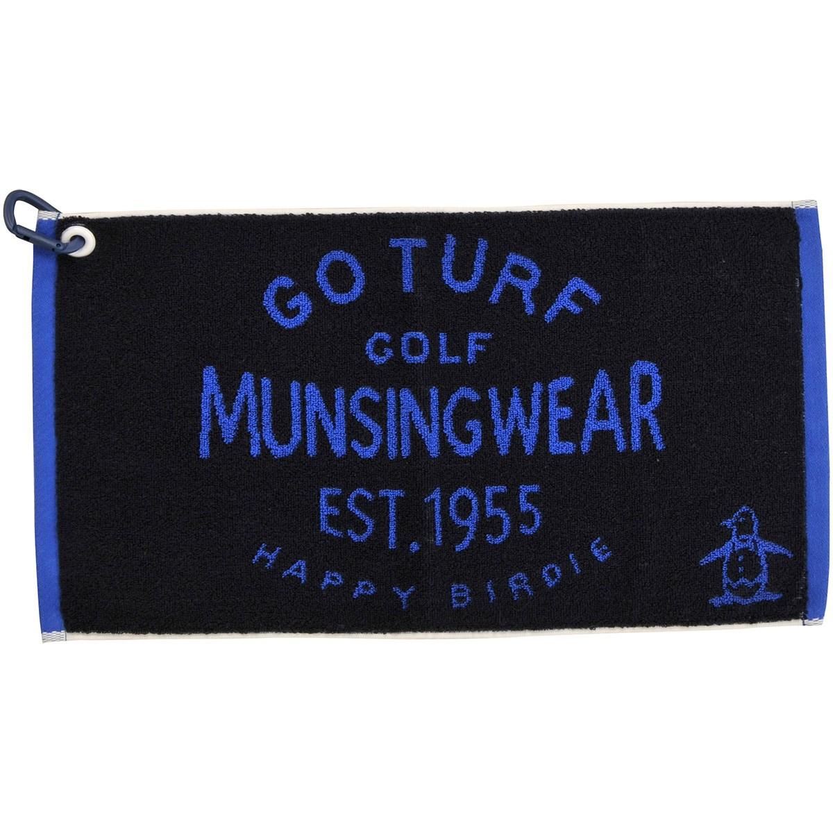 マンシングウェア Munsingwear ゴルフタオル ネイビー 00