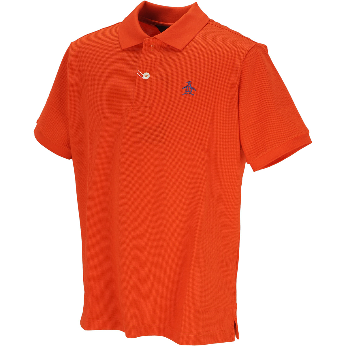 マナード鹿の子半袖ポロシャツ