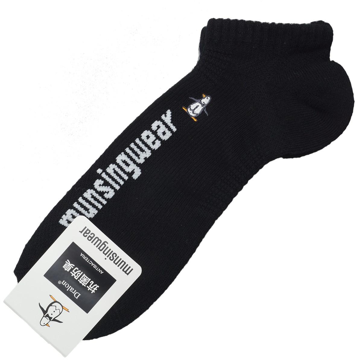 マンシングウェア Munsingwear ENVOYソックス フリー ブラック 00