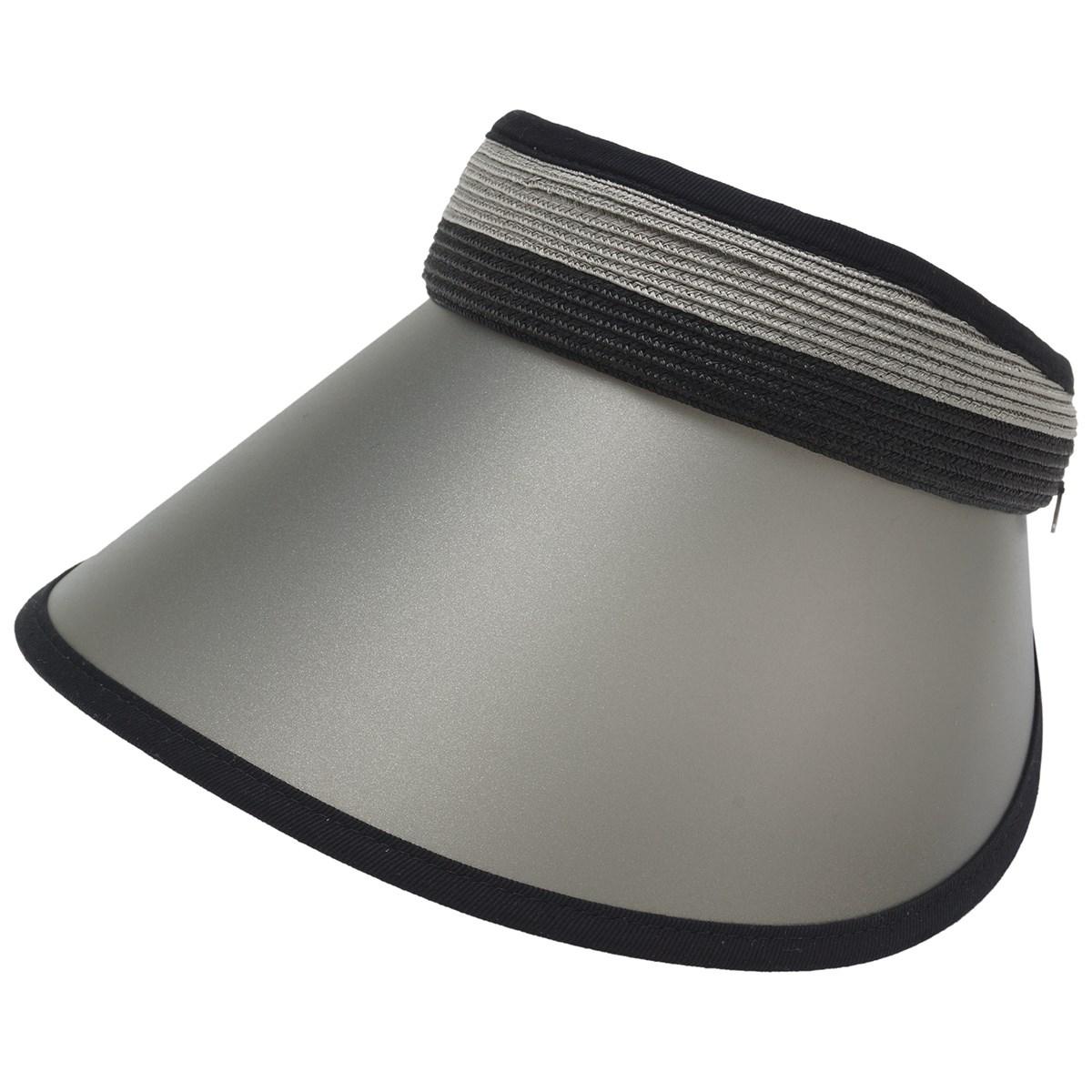 マンシングウェア Munsingwear セルツバサンバイザー フリー ブラック 00 レディス