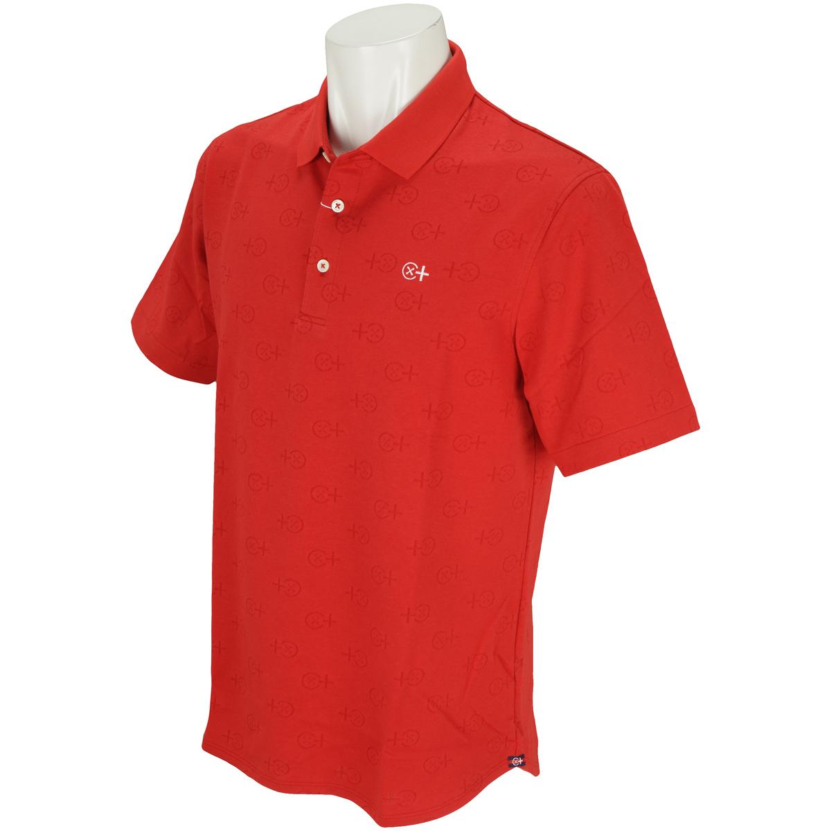 ボタンマーク 半袖ポロシャツ