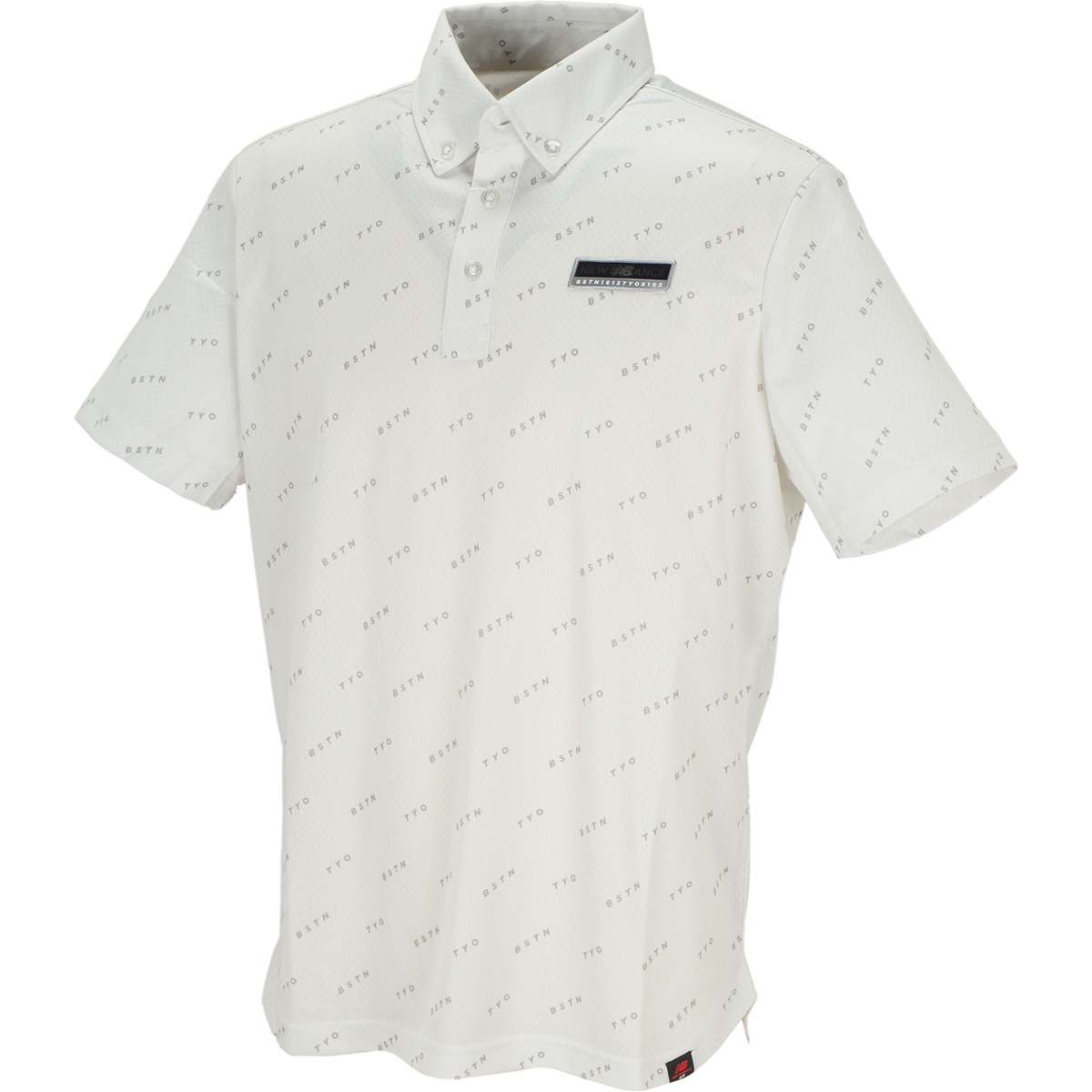 METRO ボタンダウンカラー 半袖ポロシャツ