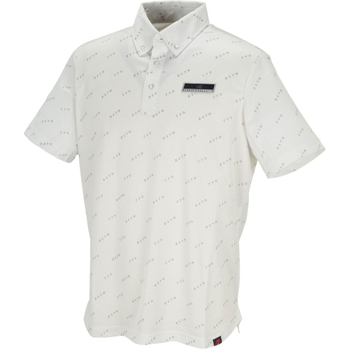 ニューバランス METRO ボタンダウンカラー 半袖ポロシャツ