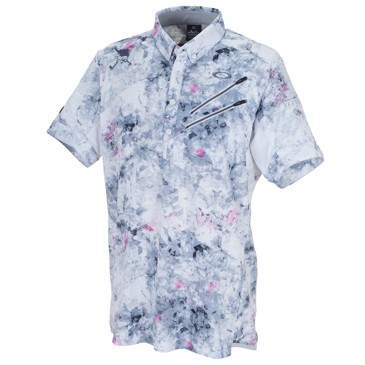 オークリー(OAKLEY) スカル Aberration 半袖ポロシャツ