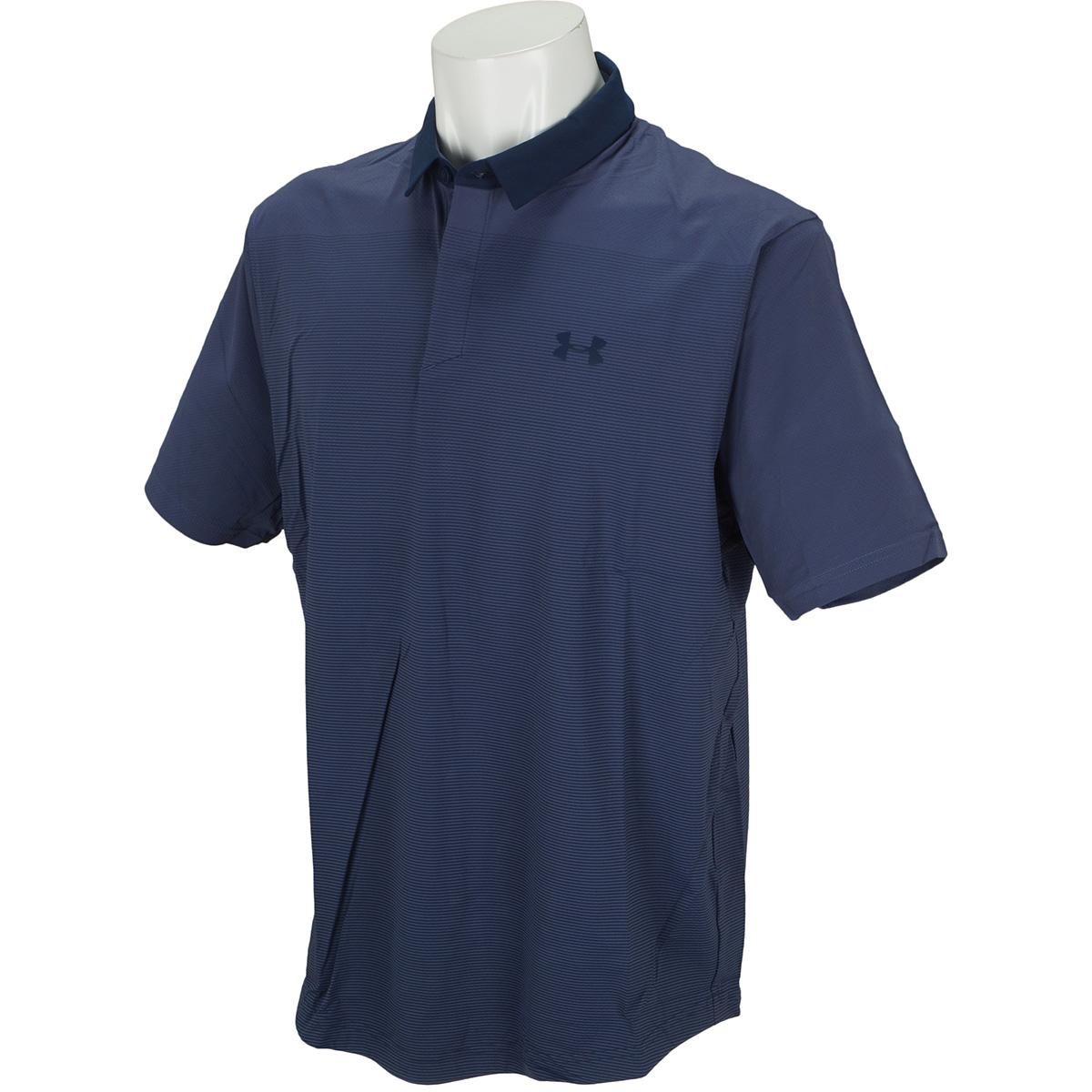 UA Iso-Chill グラジエント半袖ポロシャツ