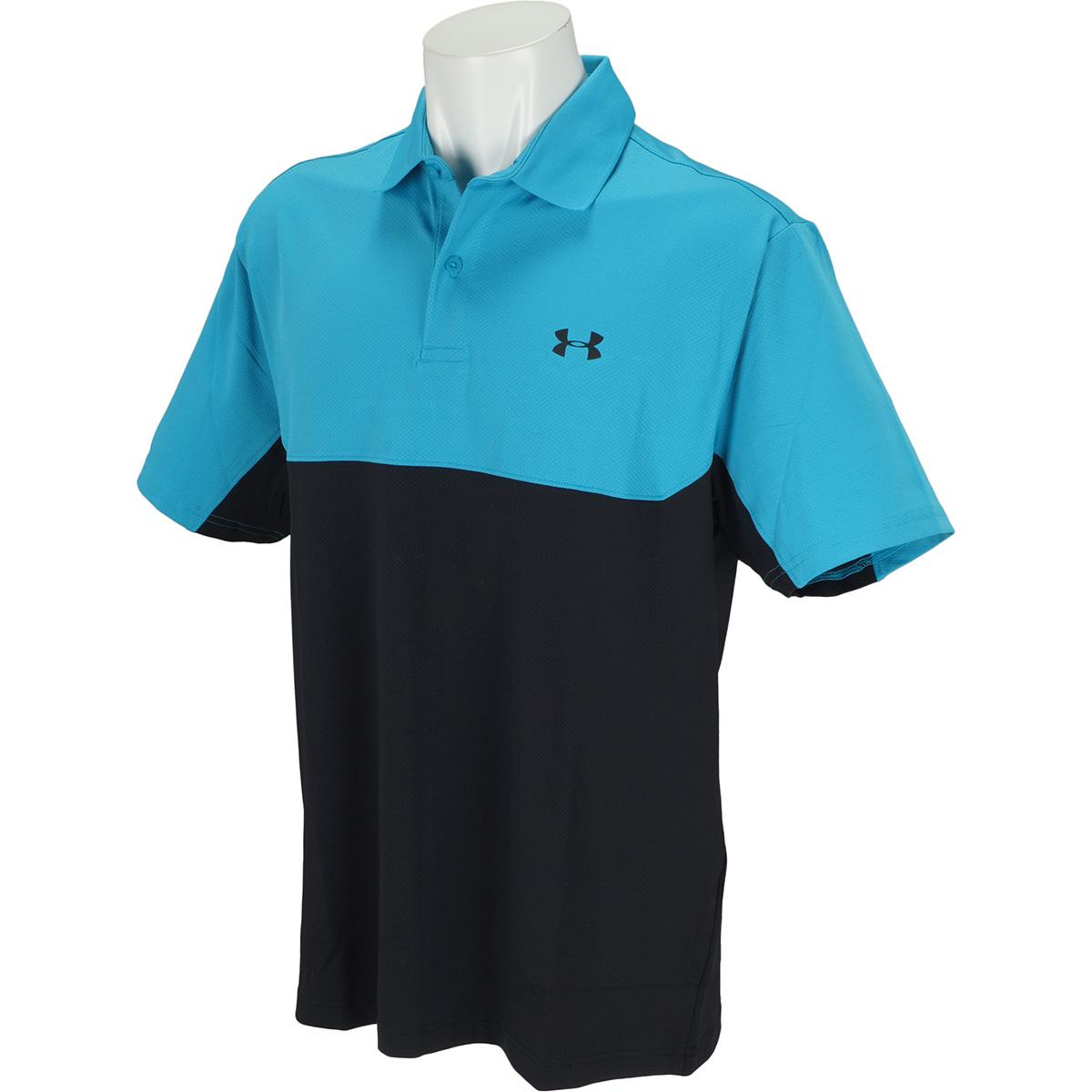 UA 2.0 カラーブロック パフォーマンス半袖ポロシャツ