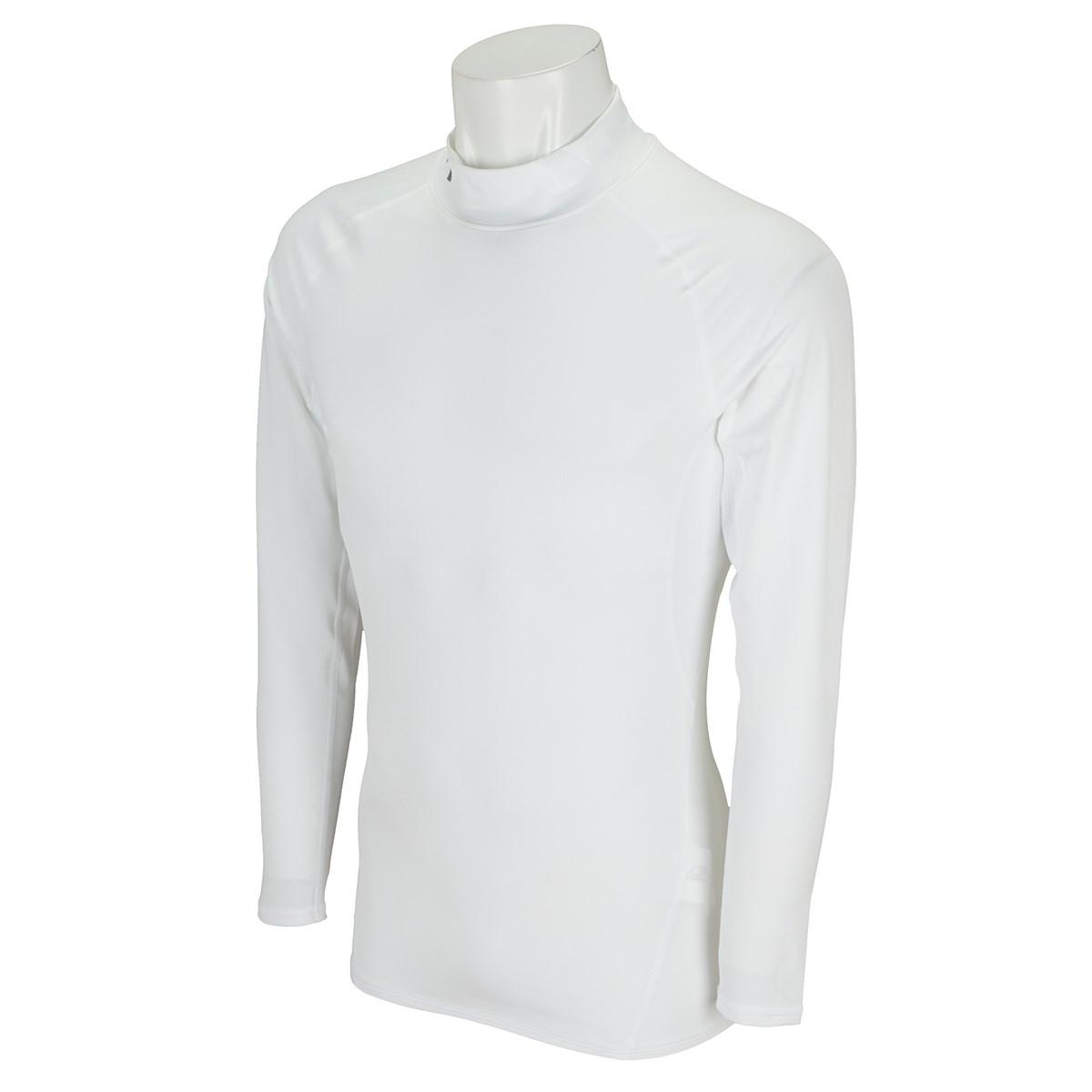 アンダーアーマー Under Armour UA HG アーマー長袖モックシャツ SM White/Graphite