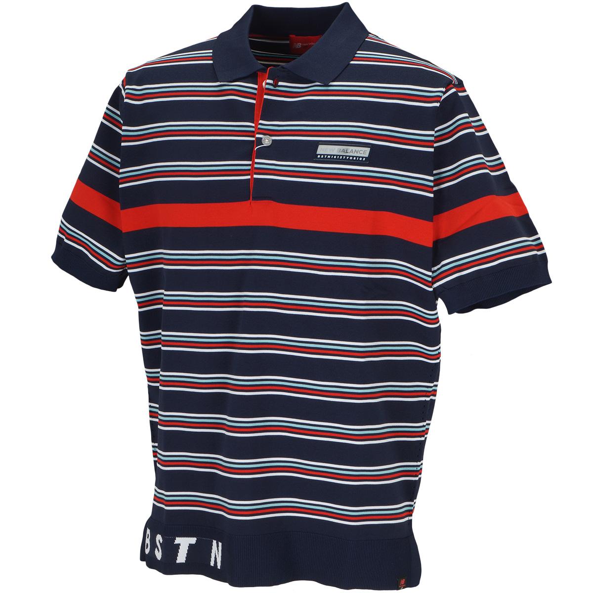 METRO 半袖ニットポロシャツ
