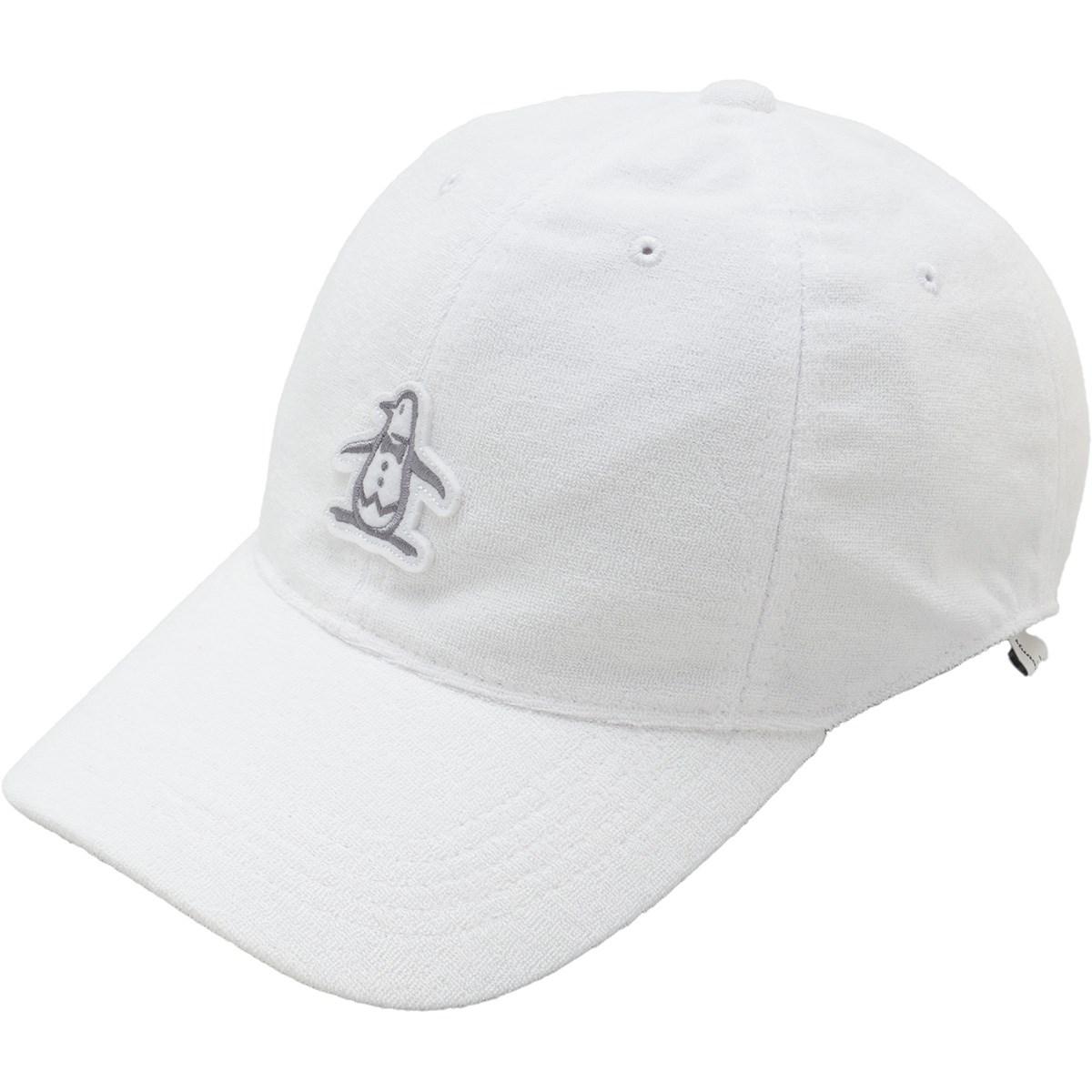マンシングウェア Munsingwear パイルキャップ フリー ホワイト 00 レディス