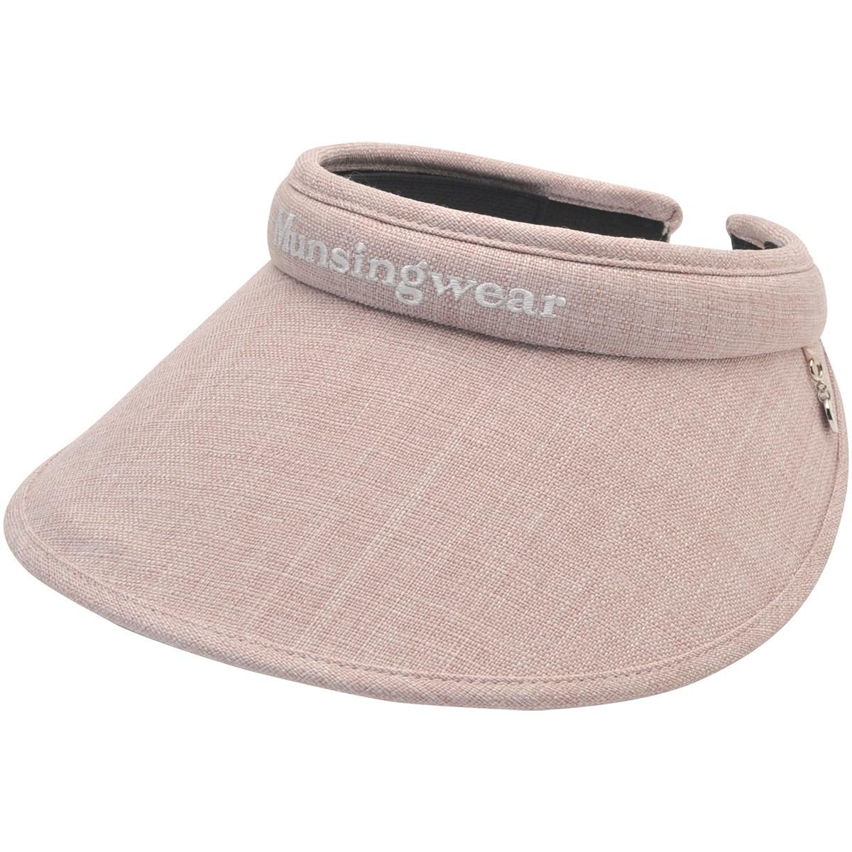 マンシングウェア Munsingwear クリップサンバイザー フリー ピンク 00 レディス