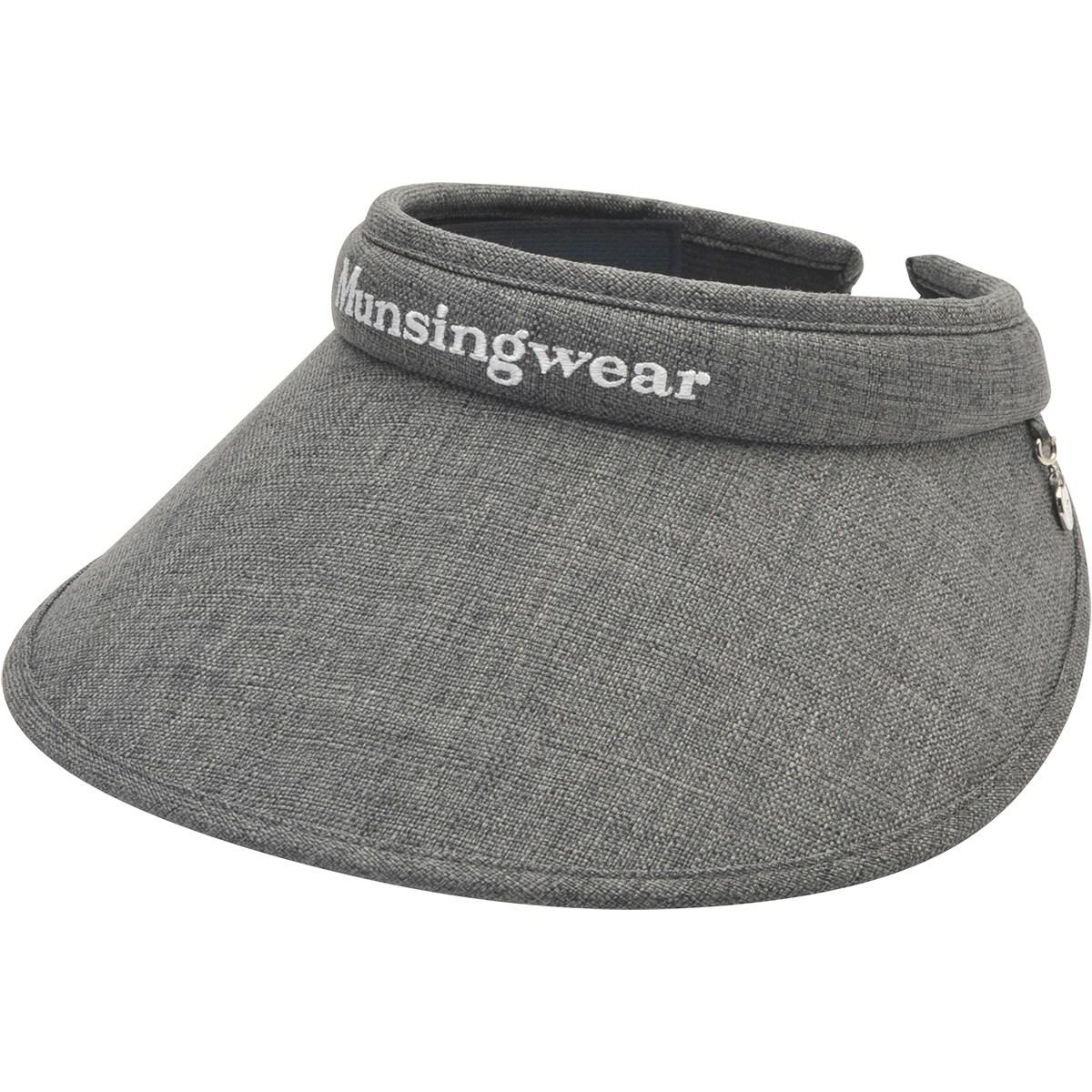 マンシングウェア Munsingwear クリップサンバイザー フリー グレー 00 レディス