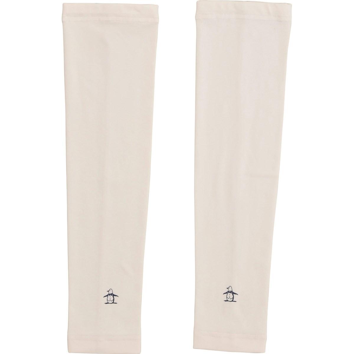 マンシングウェア Munsingwear アームカバー ホワイト 00