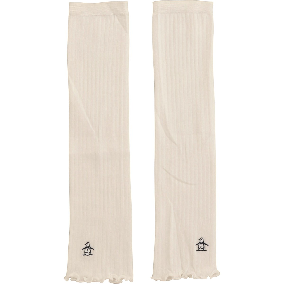 マンシングウェア Munsingwear アームカバー ホワイト 00 レディス