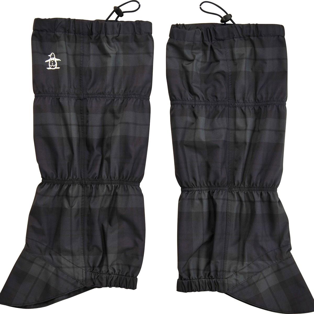 マンシングウェア Munsingwear レイン用レッグカバー ブラック/グリーン レディス