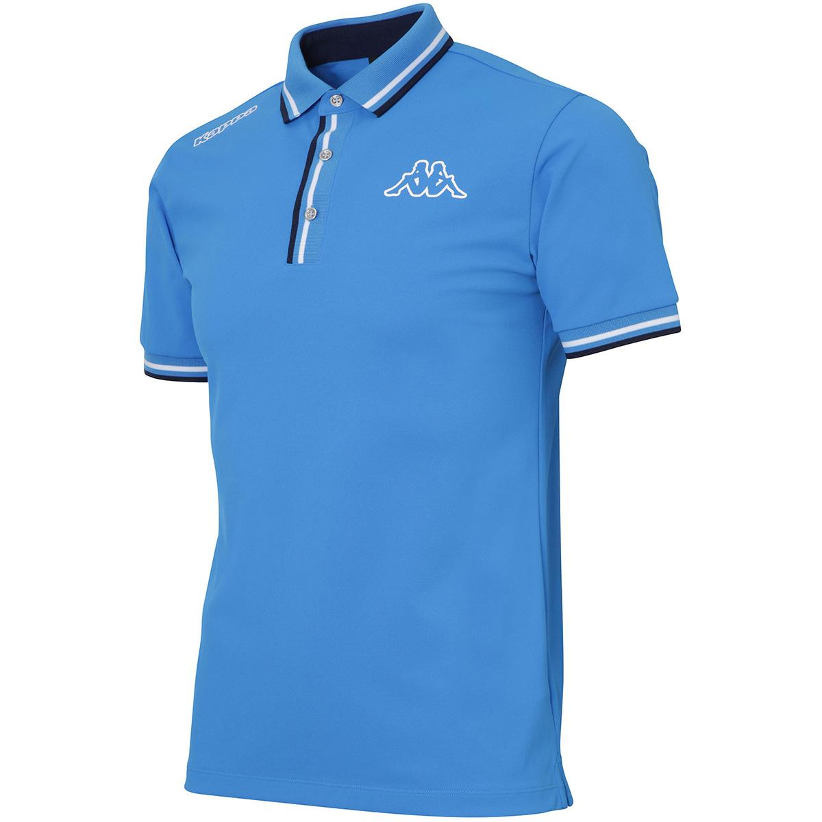 Kappa GOLF KOMBAT リブライン半袖ポロシャツ