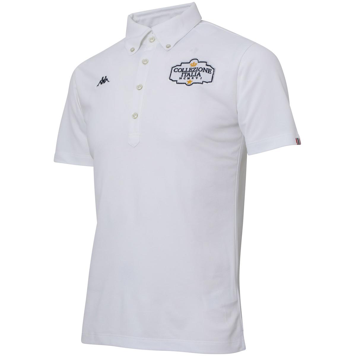 Collezione ITALIA 胸グラフィック半袖ポロシャツ