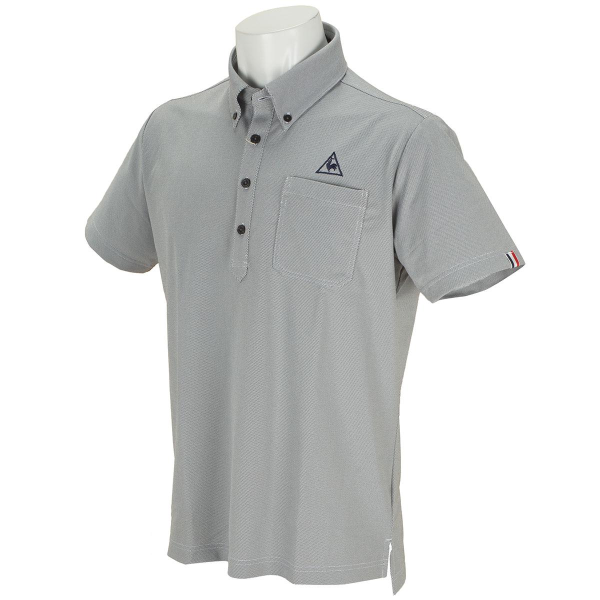 GDO限定ボタンダウン半袖ポロシャツ