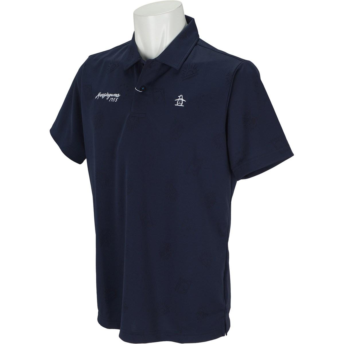 マンシングウェア Munsingwear GDO限定半袖ポロシャツ M ネイビー 00
