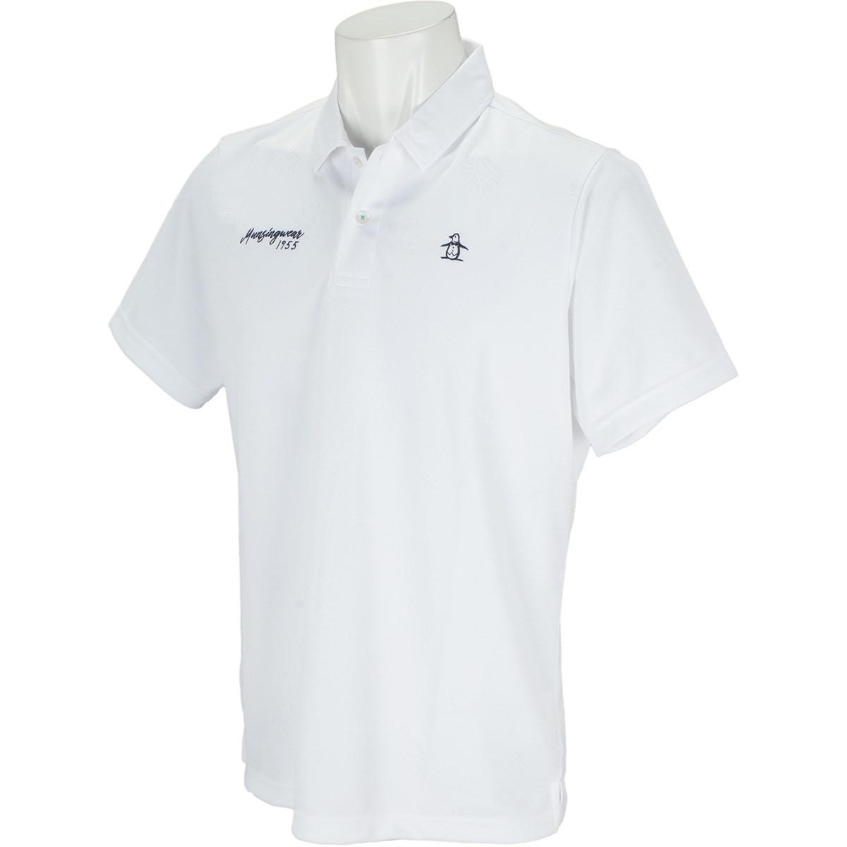 マンシングウェア Munsingwear GDO限定半袖ポロシャツ M ホワイト 00