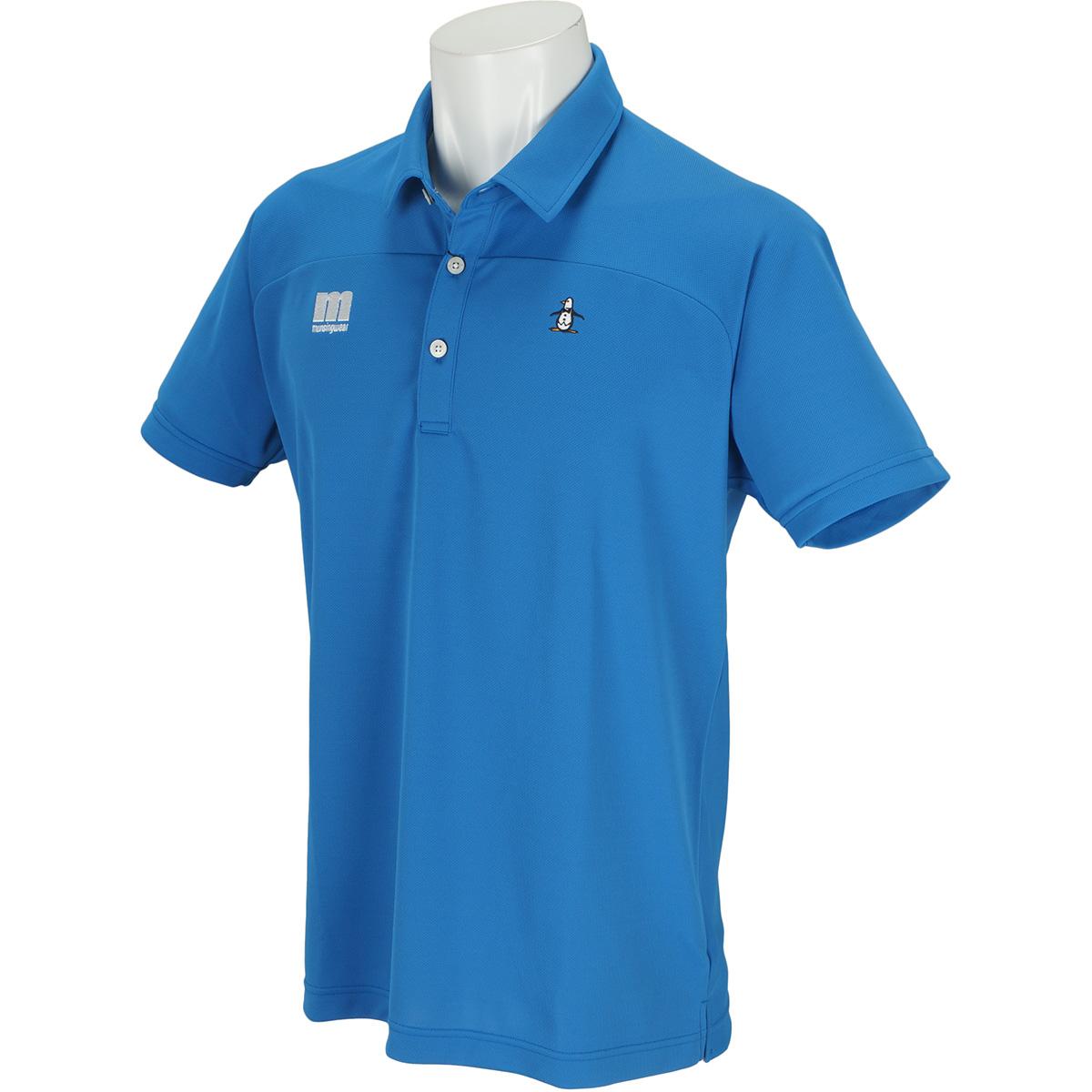 ENVOY SUNSCREEN カッティング半袖ポロシャツ