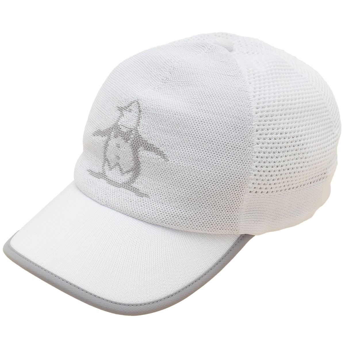 マンシングウェア Munsingwear ニットメッシュキャップ フリー ホワイト 00