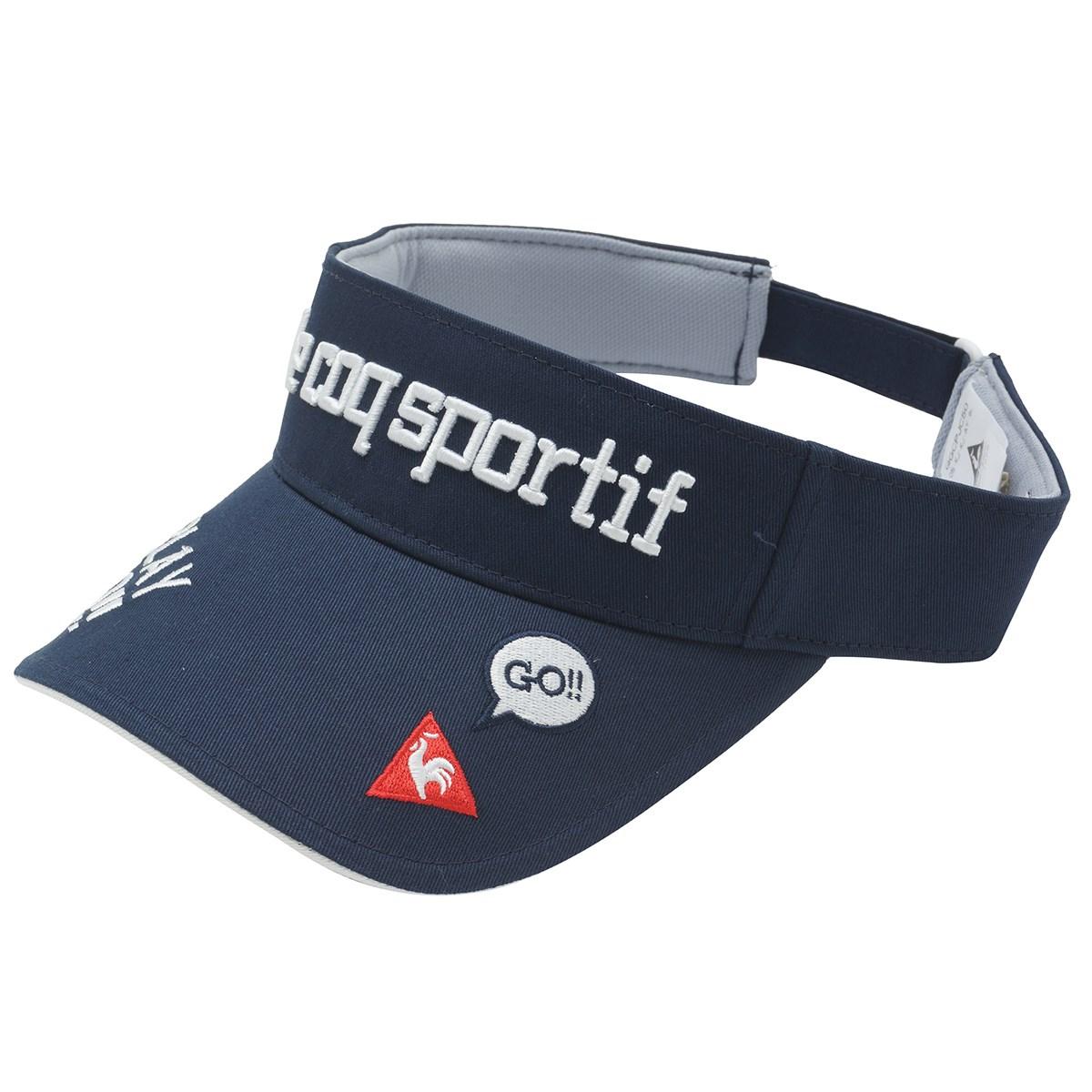ルコックゴルフ Le coq sportif GOLF コットンツイルサンバイザー フリー ネイビー 00 レディス