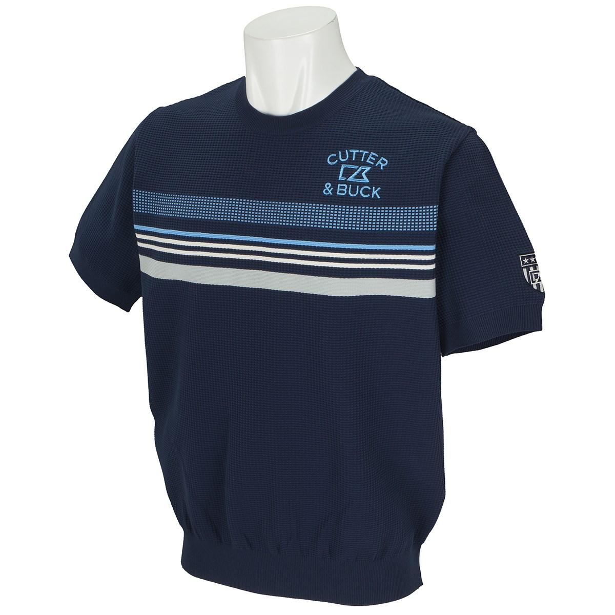 カッター&バック ライトストレッチ半袖セーター