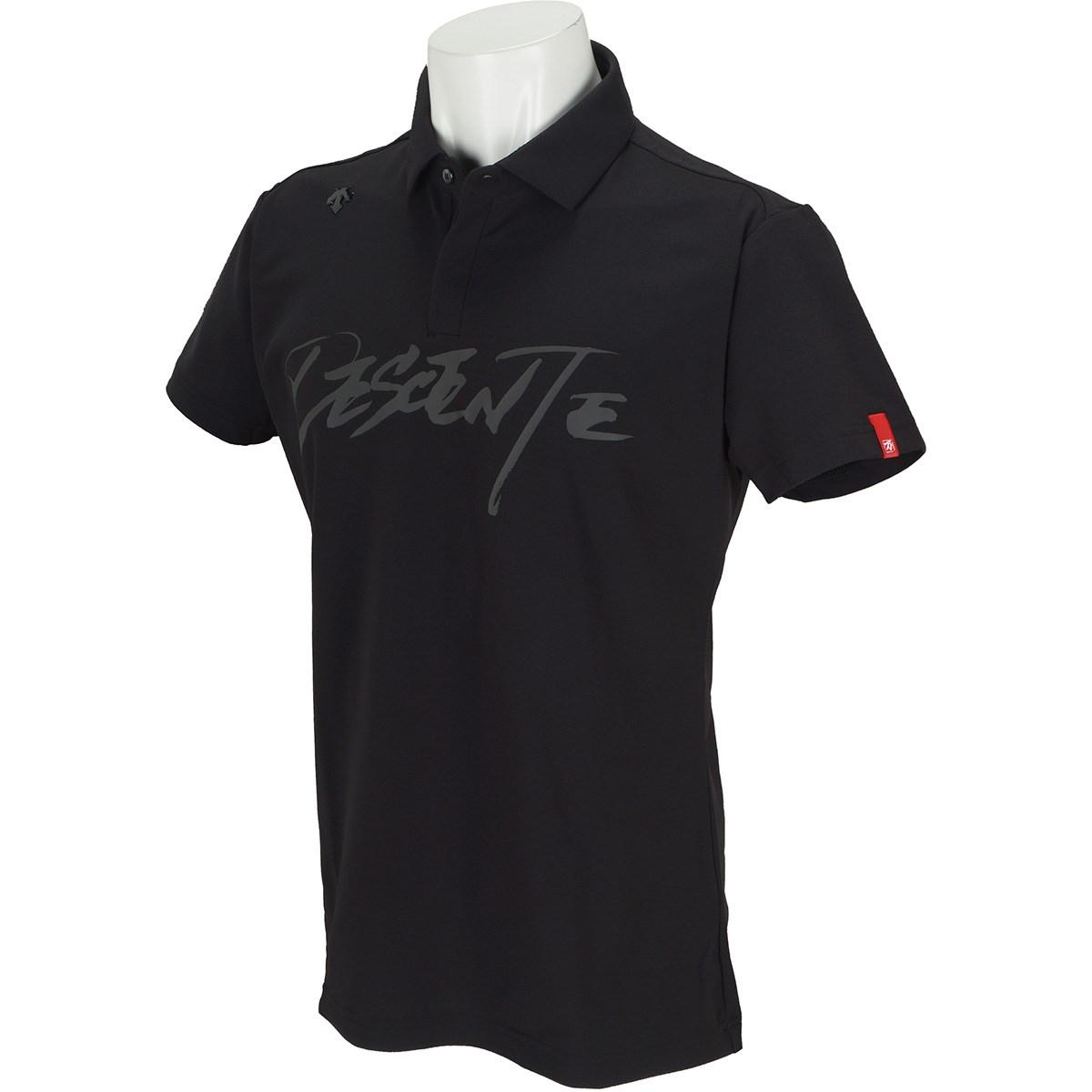デサントゴルフ(DESCENTE GOLF) 万美collection ストレッチ ソロテックス鹿の子プリント 半袖ポロシャツ