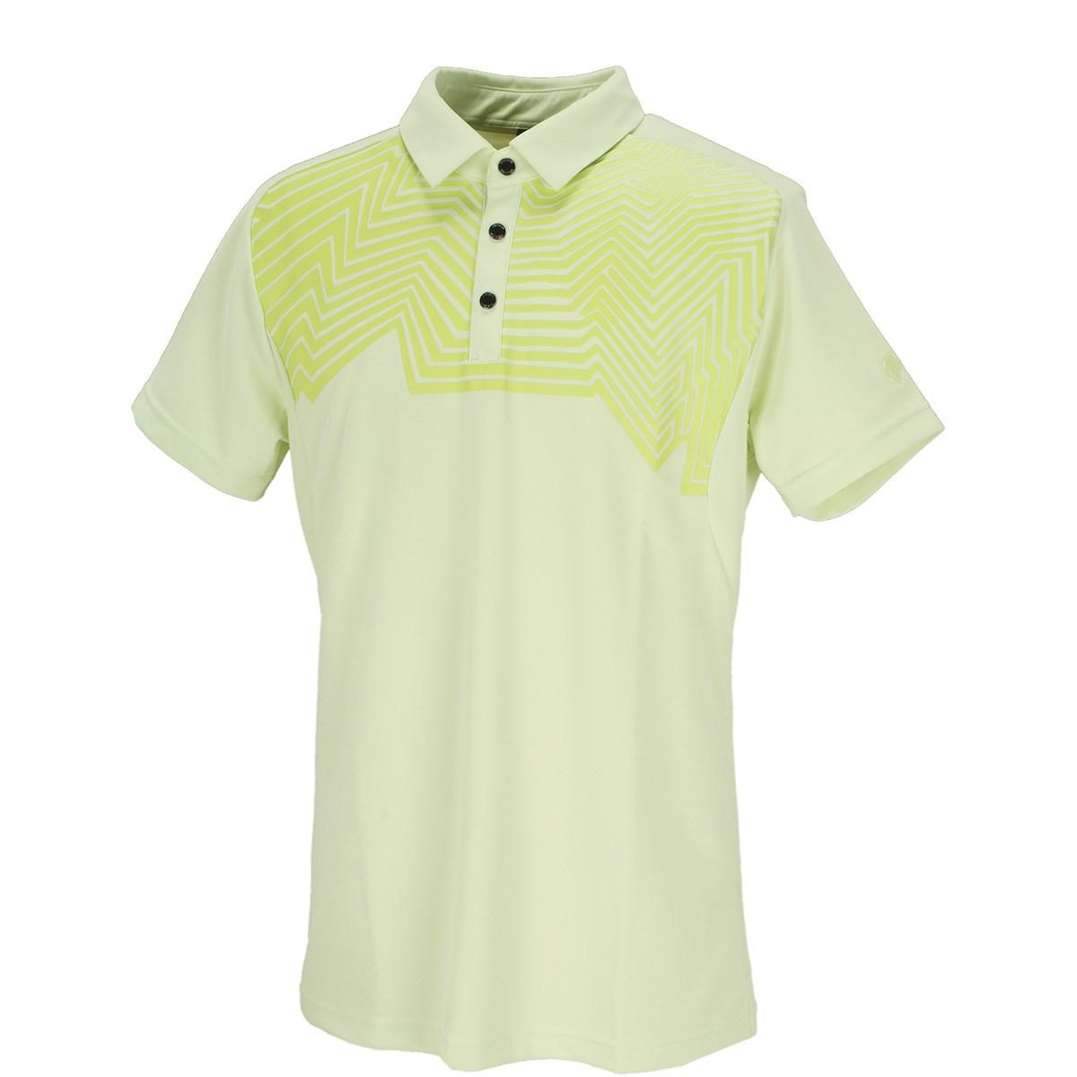 デサントゴルフ(DESCENTE GOLF) クーリストドライキューブ枯山水プリント 半袖ポロシャツ