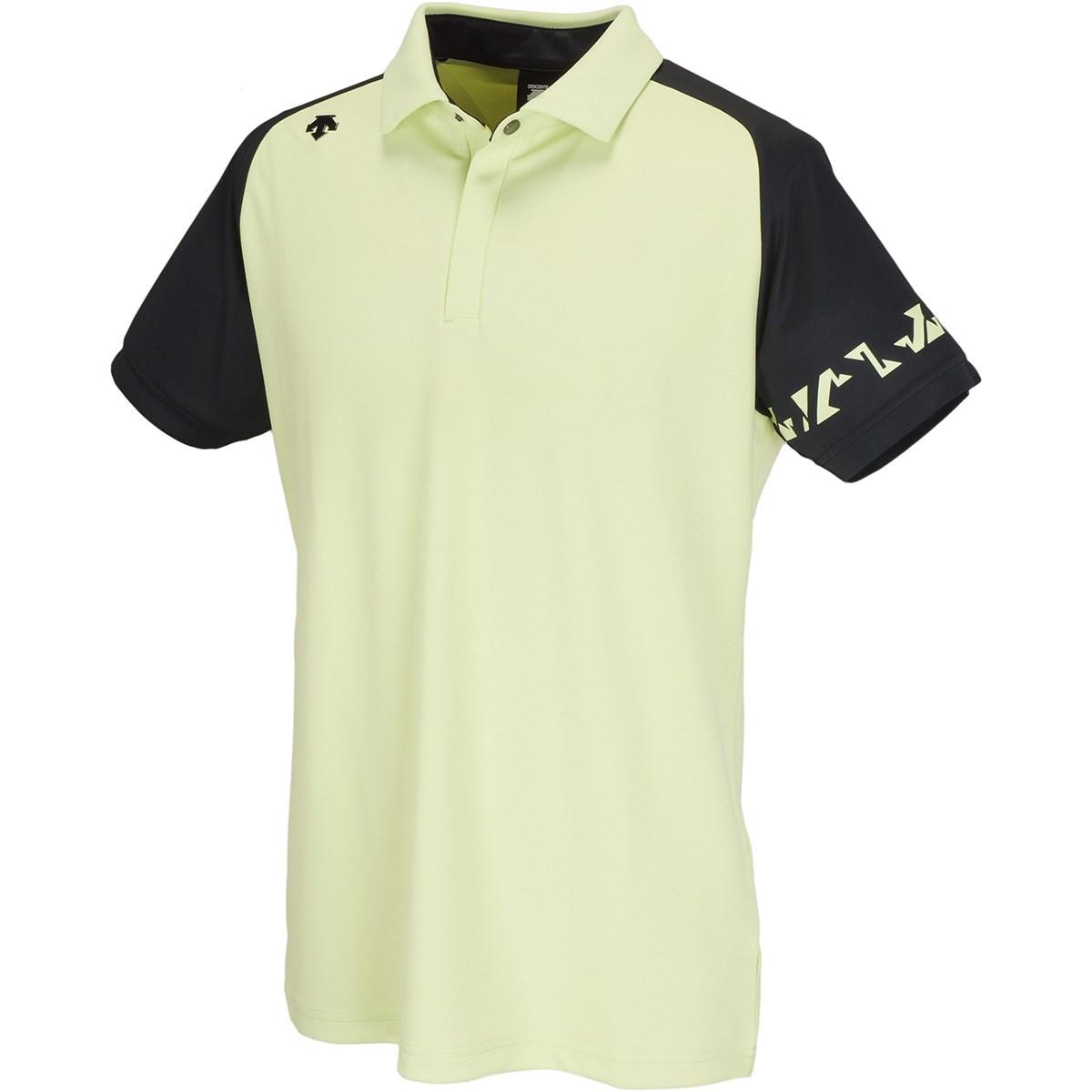 デサントゴルフ(DESCENTE GOLF) トリアセテートリバース鹿の子 半袖ポロシャツ