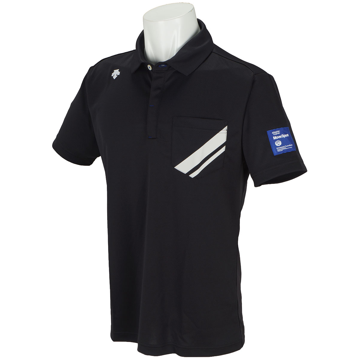 ライジングプリント シャドーボーダー 半袖ポロシャツ
