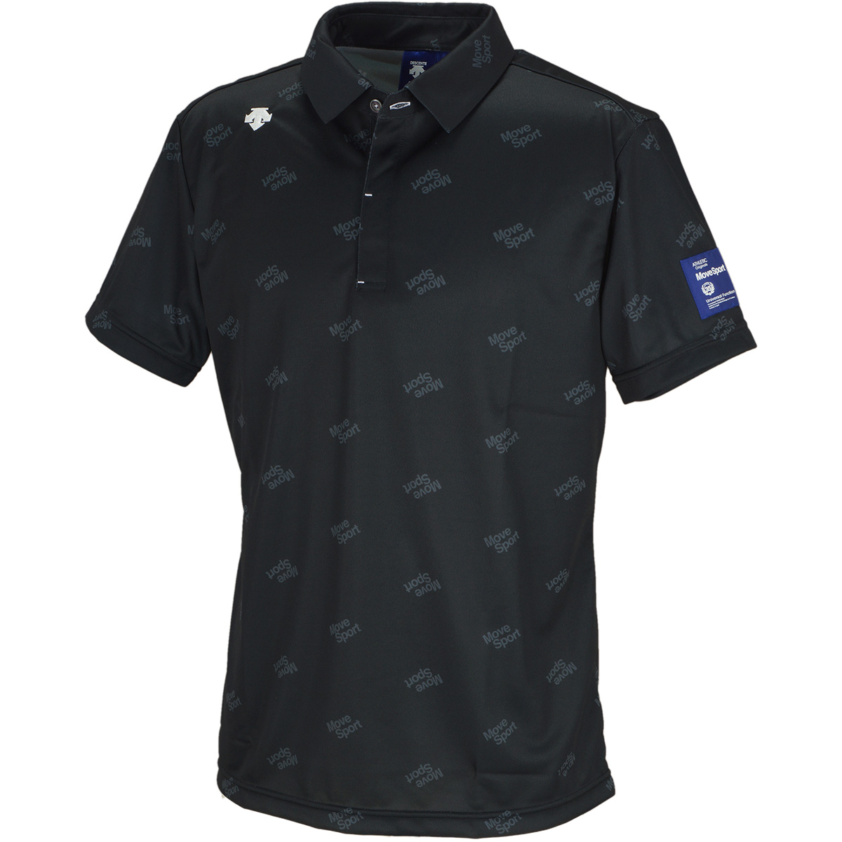 ロゴプリントリバースメッシュ 半袖ポロシャツ