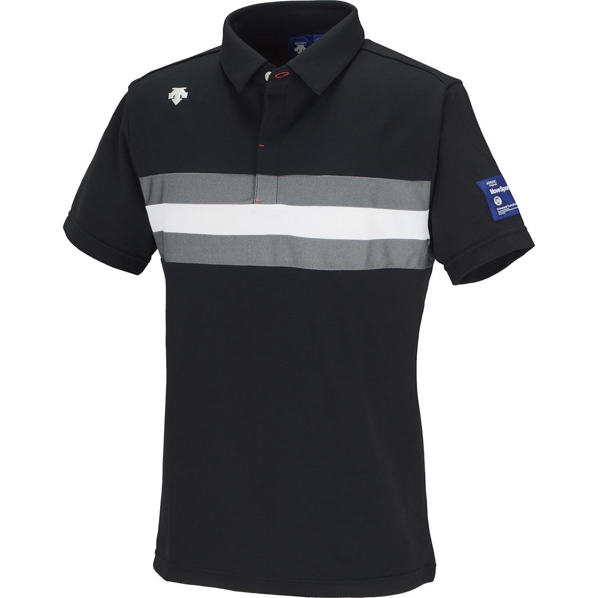 デサントゴルフ(DESCENTE GOLF) ポイントメッシュ切り替え 半袖ポロシャツ